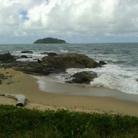 Photo taken at Praia da Penha by Renata R. on 11/16/2012