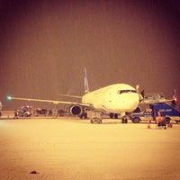Photo taken at Erzurum Airport (ERZ) by Tuba O. on 2/15/2013