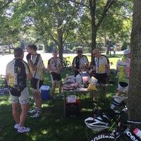 Photo taken at Boston Marathon Start Line by Mark H. on 7/31/2015