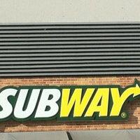 Photo taken at Subway by Carol P. on 11/8/2012