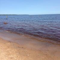 Photo taken at Lake Ladoga by Stanislav F. on 7/14/2013