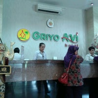 Photo taken at Griyo Avi Hotel by Adhitya S. on 2/26/2014