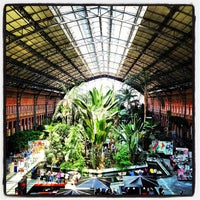 Photo taken at Madrid-Puerta de Atocha Railway Station by Jordi S. on 6/4/2013