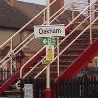 Photo taken at Oakham Railway Station (OKM) by Thomas P. on 4/2/2014