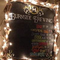Photo taken at Burnside Brewing Co. by Mike M. on 4/13/2013