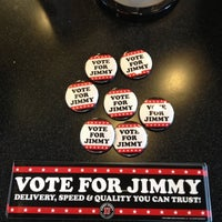 Photo taken at Jimmy John's by Mike M. on 9/18/2012