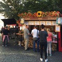 Photo taken at Francouzský trh na Kampě by I B. on 9/25/2016