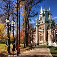 Photo taken at Tsaritsyno Park by Anton L. on 10/12/2013