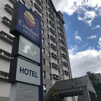 Photo taken at Comfort Hotel Joinville by Bruna C. on 8/8/2017