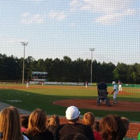 Photo taken at Buford HS Baseball Field by Johnny M. on 5/20/2014