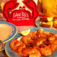 Photo taken at Crabby Bill's Seafood by Bruce C. on 10/3/2012