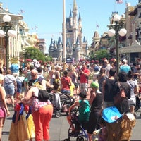 Photo taken at Main Street, U.S.A. by Hettie S. on 5/7/2013