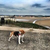 Photo taken at Porthcawl Beach by Heddwyn J. on 9/29/2014