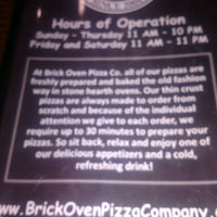 Photo taken at Brick Oven Pizza Company by Mike B. on 3/12/2017