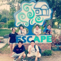 Photo taken at ESCAPE by Ming Y. on 1/4/2013