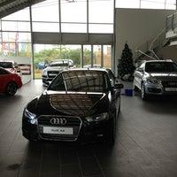 Photo taken at Audi Showroom by Sleiman B. on 1/7/2013