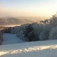 Photo taken at ГЛЦ Гора Вишнёвая by Nataly K. on 1/3/2013