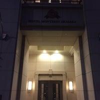 Photo taken at Hotel Monterey Akasaka by Matsu⚾️ on 3/17/2017