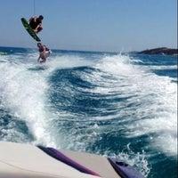 Photo taken at Vouliagmeni Water Ski & Wakeboard by Gucci on 7/13/2013