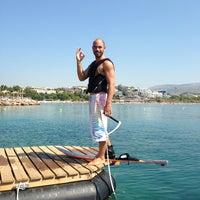Photo taken at Vouliagmeni Water Ski & Wakeboard by Gucci on 8/1/2013