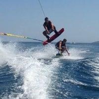 Photo taken at Vouliagmeni Water Ski & Wakeboard by Gucci on 7/18/2013