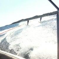 Photo taken at Vouliagmeni Water Ski & Wakeboard by Gucci on 7/19/2013