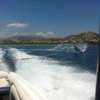 Photo taken at Vouliagmeni Water Ski & Wakeboard by Gucci on 6/27/2013