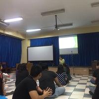 Photo taken at St. Paul University Manila by Ayiesha Marlexei M. on 6/20/2017