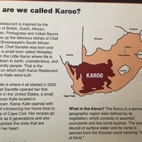 Photo taken at Karoo Restaurant by Stephen R. on 6/11/2017
