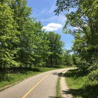 Photo taken at Caldwell Woods Bicycle Trail (North Branch Trail) by Stephen R. on 5/22/2017
