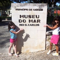Photo taken at Museu do Mar Rei D. Carlos by Elisabete P. on 9/15/2013