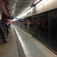 Photo taken at Delhi Aerocity Metro Station by manavu m. on 11/2/2013