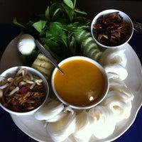 Photo taken at Thai Airways (TG) Restaurant by Alissara O. on 11/21/2012