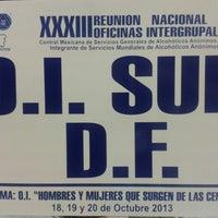 Photo taken at Oficina Intergrupal del Sur by Karsis M. on 10/24/2013