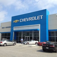Photo taken at Rick Hendrick Chevrolet by Ryan B. on 4/25/2014