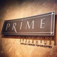 Photo taken at Prime Steakhouse by Ryan B. on 10/23/2012