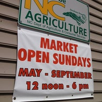 Photo taken at Charlotte Regional Farmer's Market by Ryan B. on 8/3/2013