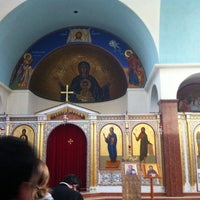 Photo taken at Holy Cross Chapel by Chrysostom A. on 1/17/2013