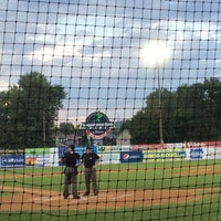 Photo taken at Williamsport Crosscutters by Howie B. on 8/21/2014