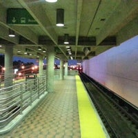 Photo taken at MDT Metrorail - Dadeland North Station by Britt R. on 11/7/2012