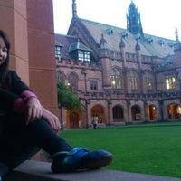 Photo taken at Sydney University Village by Jupjeep N. on 5/8/2013