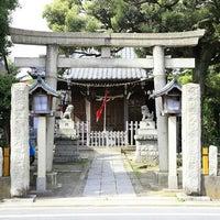Photo taken at 若宮八幡神社 by Takechan T. on 4/24/2015