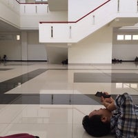 Photo taken at Engineering Faculty Gowa, Hasanuddin University by Debby A. on 10/15/2014
