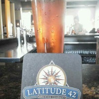 Photo taken at Latitude 42 Brewing Company by Clayton E. on 9/1/2013