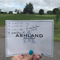 Photo taken at Ashland Country Club by Michelle G. on 8/16/2017