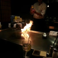 Photo taken at Hiro Japanese Steak House And Sushi Bar by Steven W. on 9/11/2013