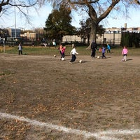 Photo taken at Chase Park Track by Katylou M. on 11/2/2014