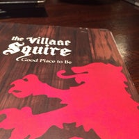 Photo taken at The Village Squire by Katylou M. on 9/13/2014