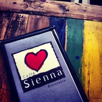 Photo taken at Caffé Sienna Ristorante by Banky B. on 8/17/2013