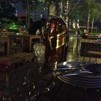 Photo taken at สวน-สระ-ลาน Pub&Restaurant by Nataya K. on 3/29/2013